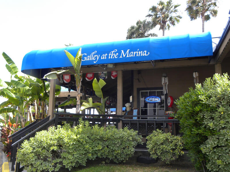 restaurant – the galley at the marina